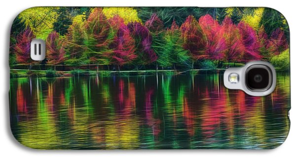 Autumn At Green Lake Seattle Galaxy S4 Case