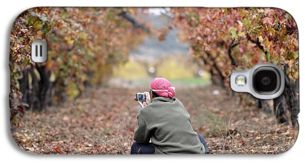 Galaxy S4 Case featuring the photograph Autumn At Lachish Vineyards 1 by Dubi Roman