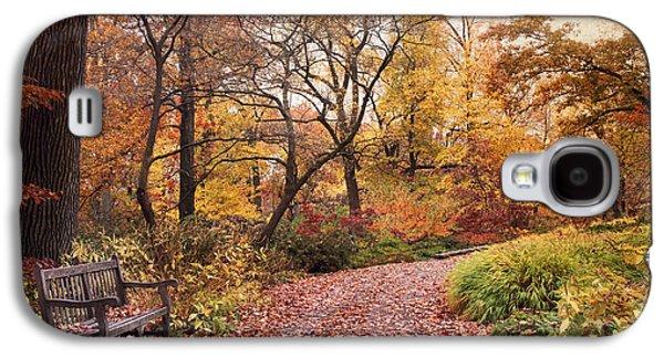 Autumn Azalea Garden Galaxy S4 Case