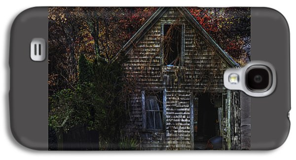 Autumn Barn Galaxy S4 Case by Janet Ballard
