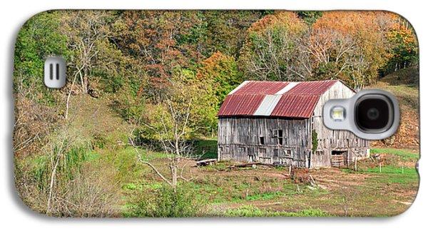 Autumn Barn Galaxy S4 Case by Todd Klassy