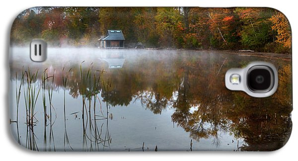 Autumn Boathouse Galaxy S4 Case by Bill Wakeley