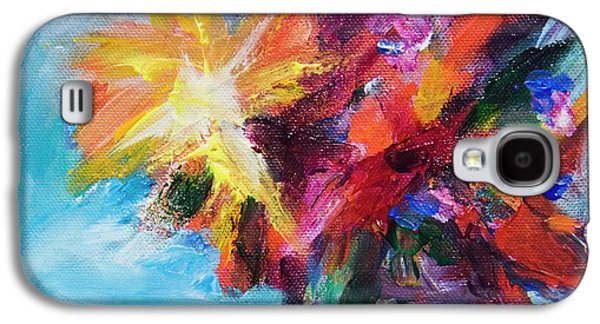 Colorful Flowers  Galaxy S4 Case