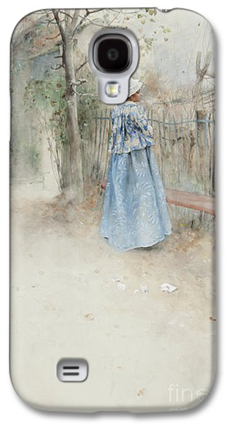 Autumn Galaxy S4 Case by Carl Larsson