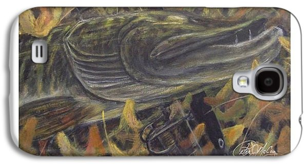 Autumn Catch - Musky Galaxy S4 Case by Peter McCoy