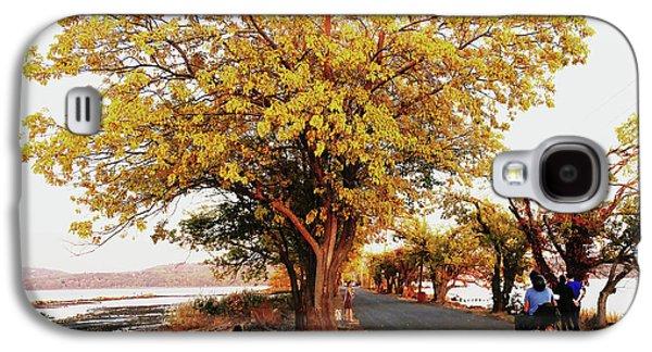 Autumn Causeway Galaxy S4 Case