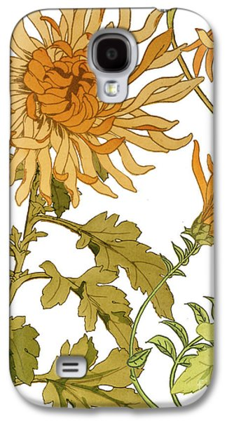 Autumn Chrysanthemums I Galaxy S4 Case by Mindy Sommers