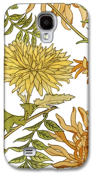 Autumn Chrysanthemums II Galaxy S4 Case by Mindy Sommers