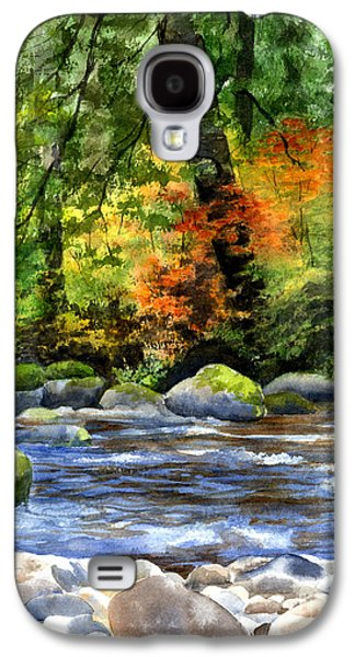 Autumn Colors In A Forest Galaxy S4 Case by Sharon Freeman