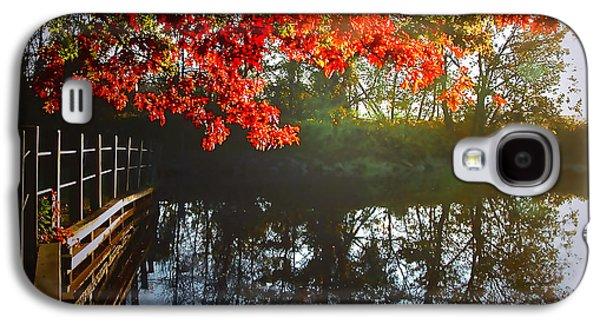 Autumn Creek Magic Galaxy S4 Case