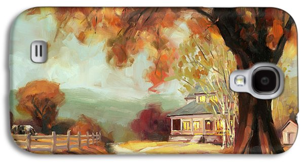 Geese Galaxy S4 Case - Autumn Dreams by Steve Henderson