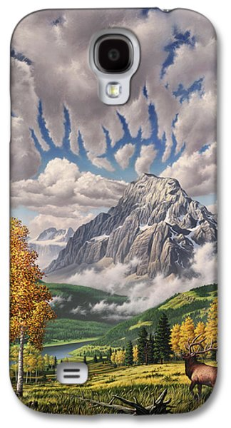 Autumn Echos Galaxy S4 Case by Jerry LoFaro