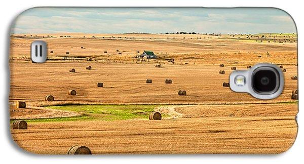 Autumn Fields Galaxy S4 Case by Todd Klassy