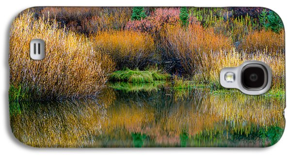 Autumn Fishing Hole Galaxy S4 Case by TL  Mair