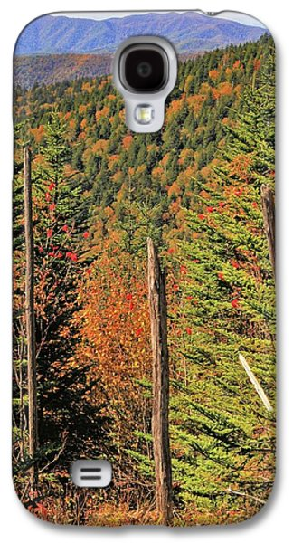 Autumn From The Top Of Clingman's Dome Galaxy S4 Case by Dan Sproul