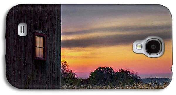 Galaxy S4 Case featuring the photograph Autumn Glow Square by Bill Wakeley