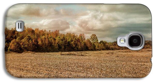Autumn In The Country Landscape Scene Galaxy S4 Case