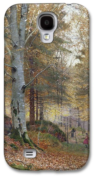Autumn In The Woods Galaxy S4 Case by James Thomas Watts
