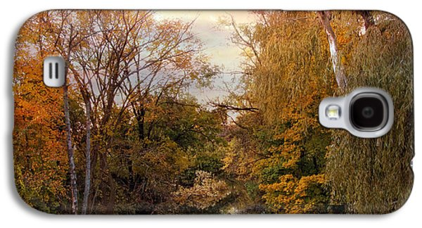 Autumn Invitation Galaxy S4 Case by Jessica Jenney
