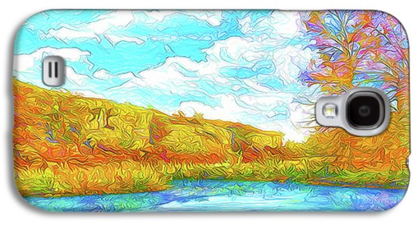 Autumn Lake Reflections - Park In Boulder County Colorado Galaxy S4 Case by Joel Bruce Wallach