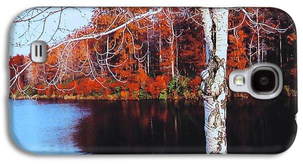 Autumn Lake Galaxy S4 Case