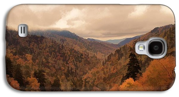 Autumn Landscape In The Smoky Mountains Galaxy S4 Case by Dan Sproul
