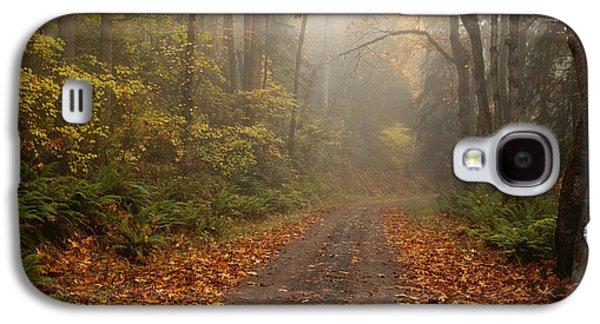 Autumn Lane Galaxy S4 Case by Mike  Dawson