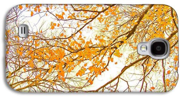 Autumn Leaves Galaxy S4 Case by Az Jackson