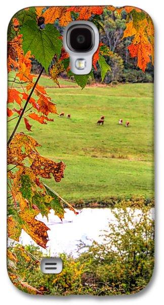 Autumn Leaves On The Farm Galaxy S4 Case