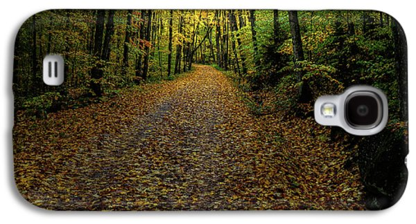 Galaxy S4 Case featuring the photograph Autumn Leaves On The Trail by David Patterson