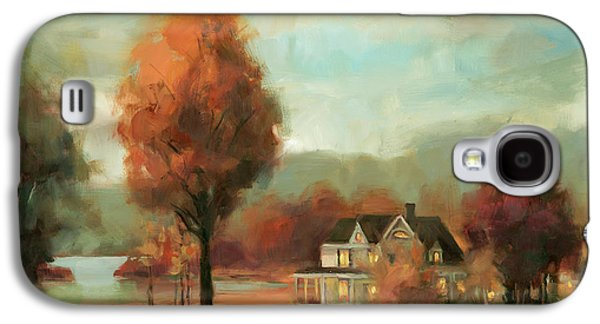 Geese Galaxy S4 Case - Autumn Memories by Steve Henderson