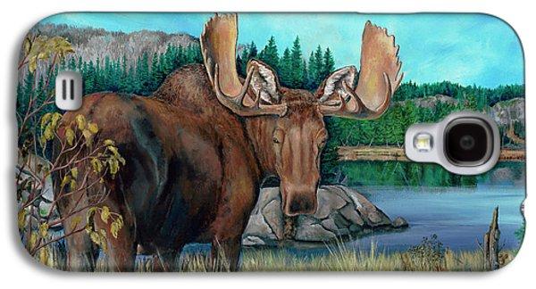 Autumn Moose Galaxy S4 Case