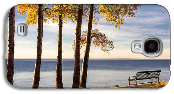Autumn Morn On The Lake Galaxy S4 Case by Mary Amerman