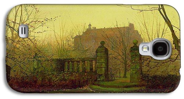 Autumn Morning Galaxy S4 Case by John Atkinson Grimshaw