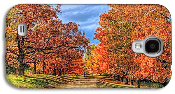 Autumn Moves In Galaxy S4 Case