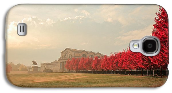 Autumn On Art Hill Galaxy S4 Case