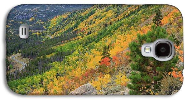 Autumn On Bierstadt Trail Galaxy S4 Case by David Chandler