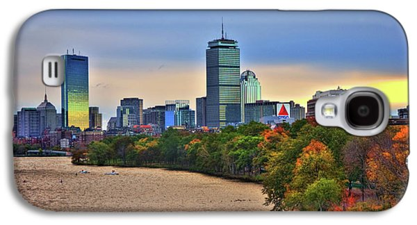 Autumn On The Charles River - Boston Galaxy S4 Case by Joann Vitali