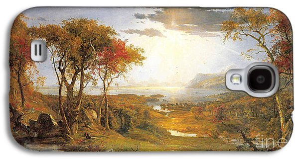 Autumn On The Hudson River  Galaxy S4 Case by Celestial Images