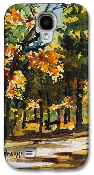 Autumn On The Natchez Trace Galaxy S4 Case by Spencer Meagher