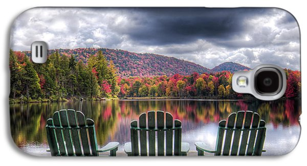 Galaxy S4 Case featuring the photograph Autumn On West Lake by David Patterson