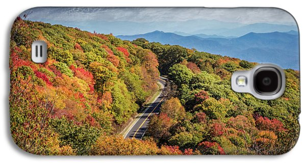 Autumn Overlook On The Cherohala Skyway Galaxy S4 Case