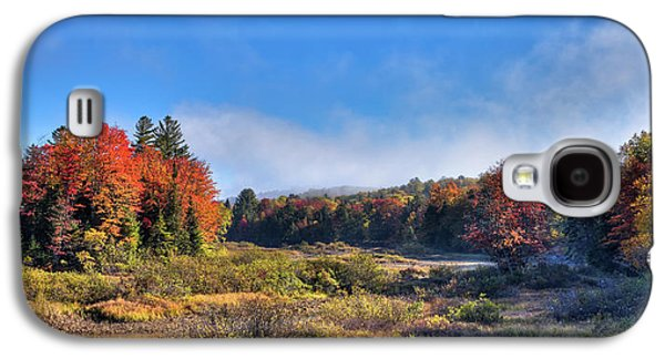 Galaxy S4 Case featuring the photograph Autumn Panorama At The Green Bridge by David Patterson
