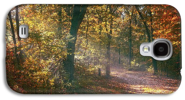Autumn Path Galaxy S4 Case by Scott Norris