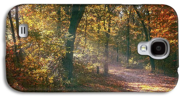 Autumn Path Galaxy S4 Case by Scott Norris