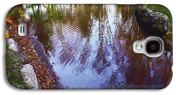 Autumn Reflection Pond Galaxy S4 Case