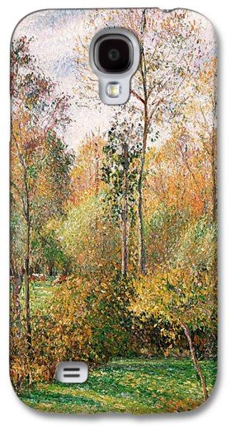 Autumn Poplars, Eragny Galaxy S4 Case by Camille Pissarro