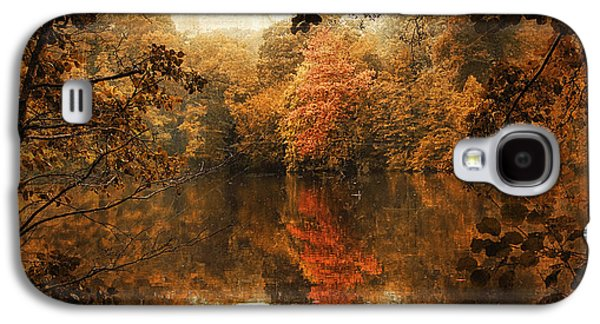 Autumn Reflected Galaxy S4 Case