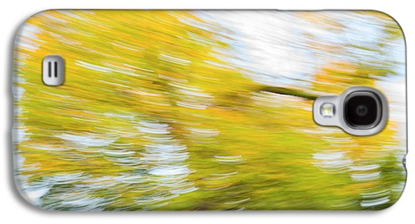 Abstract Movement Galaxy S4 Case - Autumn Rush by Tim Gainey