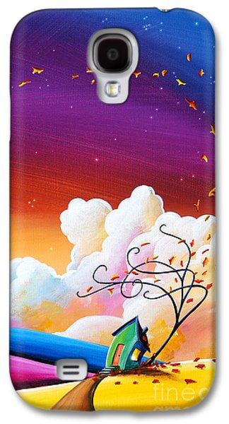 Autumn Skies IIi Galaxy S4 Case by Cindy Thornton